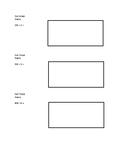 Box Method Division Exit Ticket