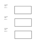 Box Method Division Exit Ticket