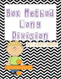 Box Method Long Division