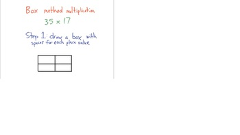Box Method Multiplication