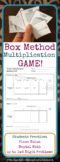 Box Method Multiplication Game