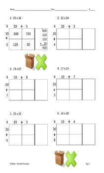 Box Method Multiplication ULTIMATE Multipack