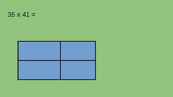 Box Method for Multiplying 2-digit by 2-digit Numbers