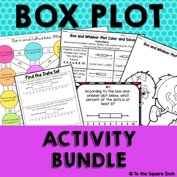 Box Plot Activity Bundle