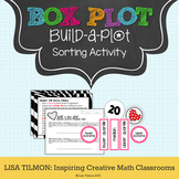 Box Plot: Build-a-Plot Sorting Activity