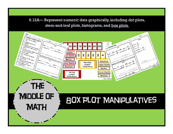 Box Plot Manipulatives