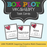 Box Plot Vocabulary Task Cards