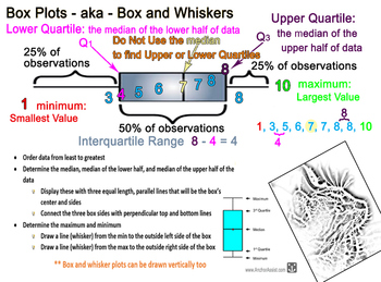Box Plot or Box and Whiskers Plot