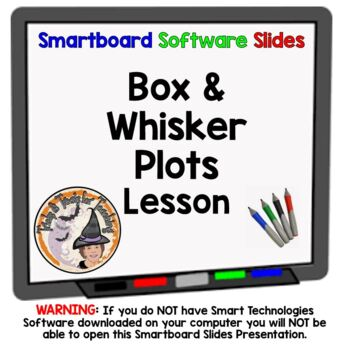 Box and Whisker Plots Smartboard Lesson Step by Step How t