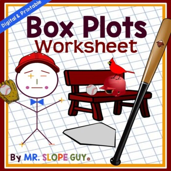 Box Plots Create and Interpret (Box & Whisker) Worksheet PDF Go Math