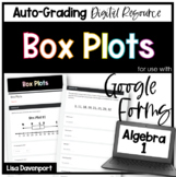 Box Plots- for use with Google Forms