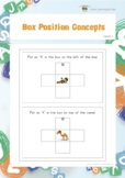 Box Position Concepts (Visual Perception Worksheets)