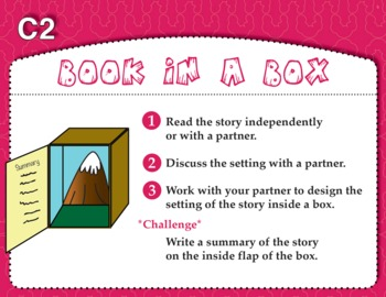 Box That Book (Common Core RL 3.7)