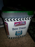Box Top Collection Box Label