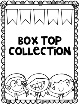 Box Top Collection Label