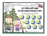 Box Top Collection Sheet - Camping Theme 1