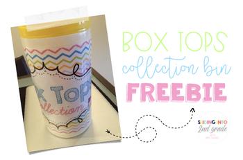 Box Top Label {Freebie}