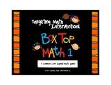 Box Top Math: Multiplication & Division