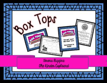 Box Tops Campaign Sheets