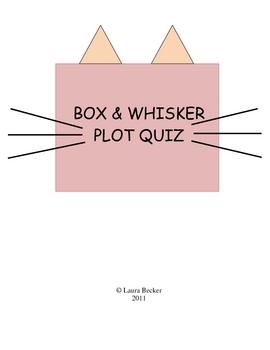 Box & Whisker Quiz