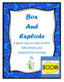 Box and Explode - How to add details to a rough draft