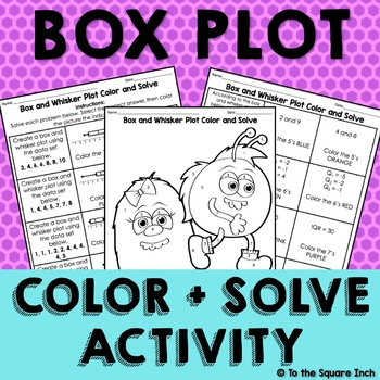 Box and Whisker Color and Solve
