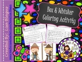 Box and Whisker Graph Coloring Activity