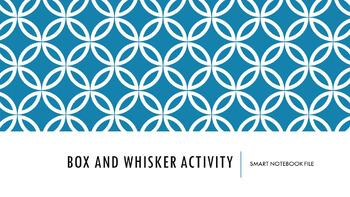 Box and Whisker Plot Activity