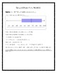 Box and Whisker Plot Analysis Worksheet