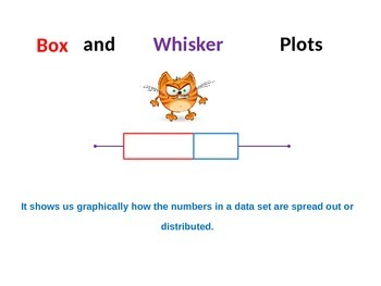 Box and Whisker Plot Analysis and Construction including Outliers