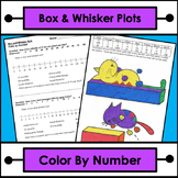 Box and Whisker Plots - Color by Number