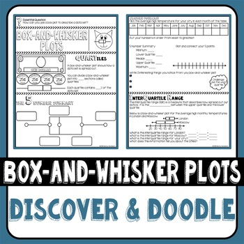 Box-and-Whisker Plot Doodle Notes