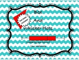 Box and Whisker Plot Foldable/Brochure  Exit Ticket Included