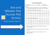 Box and Whisker Plot - Human Plot Activity