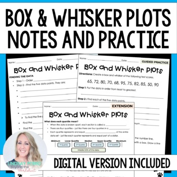 Box And Whisker Plots Teaching Resources Teachers Pay Teachers