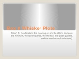 Box and Whisker Plot PowerPoint