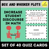 Box and Whisker Plot Quiz Cards Activity