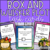 Box and Whisker Plot Task Cards (40 Task Cards)