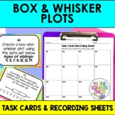 Box Plot Task Cards