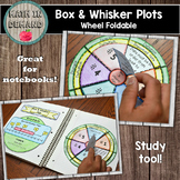 Box and Whisker Plot Wheel Foldable (Statistics Foldable)
