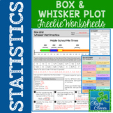 Box and Whisker Plot - FREEBIE