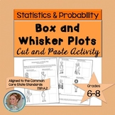Box and Whisker Plots Cut and Paste Activity