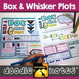 Box and Whisker Plots Doodle Notes