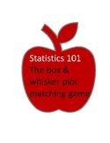 Box and Whisker Plots Matching Activity with Justifications
