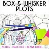 Box-and-Whisker Plots Math Wheel