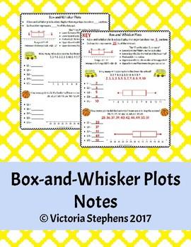 Box-and-Whisker Plots Notes