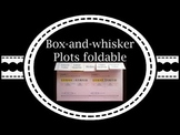 Box and whisker plot foldable
