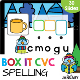 Box it Up Mixed CVC Words Spelling Kindergarten Reading Go