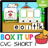 Box it Up: Short I CVC Words Spelling Kindergarten Reading
