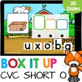 Box it Up: Short O CVC Words Spelling Kindergarten Reading